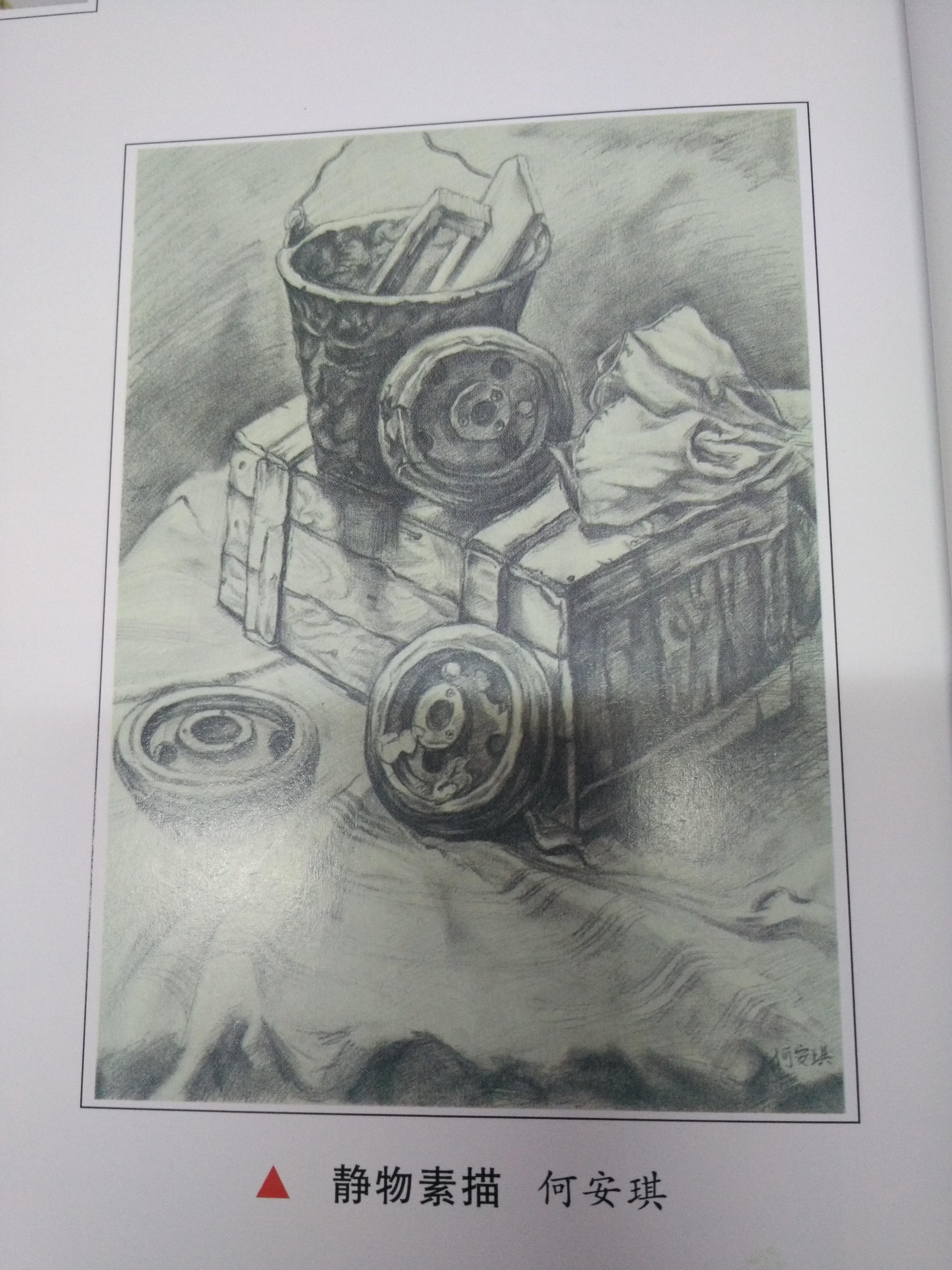 我校学生何安琪绘画作品被收入美丽常德 幸福家园书画作品专辑 百年